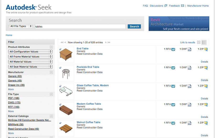 Autodesk Seek Gets A New Look And More Content
